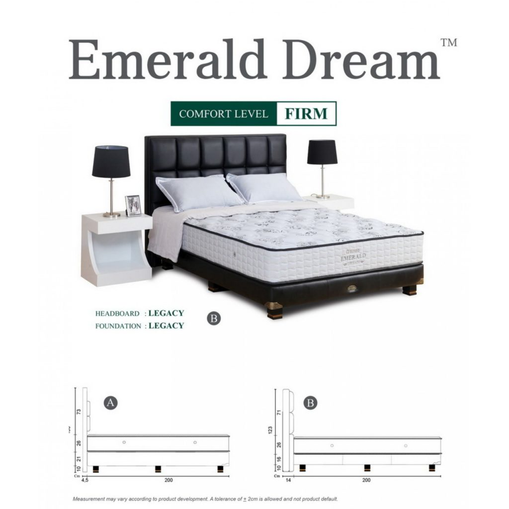 guhdo springbed emerald dream surabaya